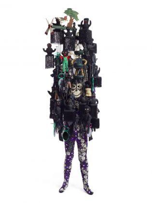 Nick Cave, Soundsuit NC11.018, 2011. Courtesy Sindika Dokolo Foundation, Bruxelles