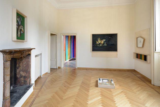 Nicola Samorì e Matteo Fato. Iscariotes. Exhibition view at Casa Testori, Novate Milanese 2018. Photo Michele Alberto Sereni