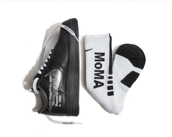 Nike Air Force 1 '07 brandizzate MoMA