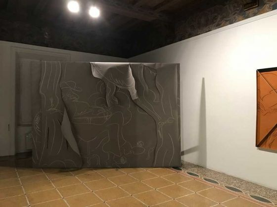 Ola Vasiljeva, Cinq à Sept. Installation view at Indipendenza Studio, Roma 2018