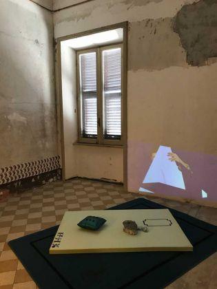 Ola Vasiljeva. Installation view at Indipendenza Studio, Roma 2018