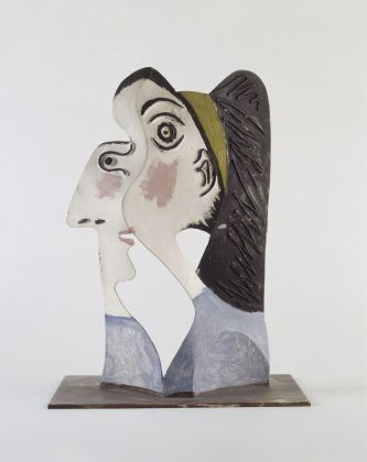 Pablo Picasso, Testa femminile, Mougins, 1962. Musée national Picasso, Parigi. © Succession Picasso - 2018, ProLitteris, Zurich. Photo RMN-Grand Palais (Musée national Picasso-Paris) - Béatrice Hatala