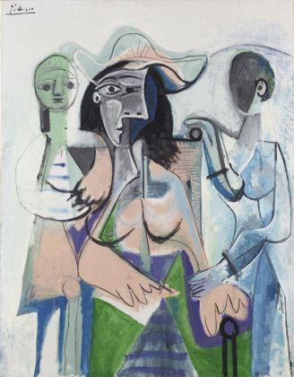 Pablo Picasso, Donna e bambine, 1961. Philadelphia Museum of Art, Donazione di Mrs. John Wintersteen, 1964