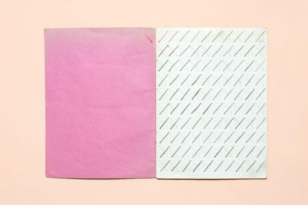 Prime pagine del quaderno di calligrafia di un bambino di Quart (Valle d'Aosta), anni '10