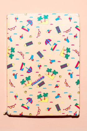 Quaderno di italiano di un bambino di quarta elementare di Bagheria (Palermo), 1987