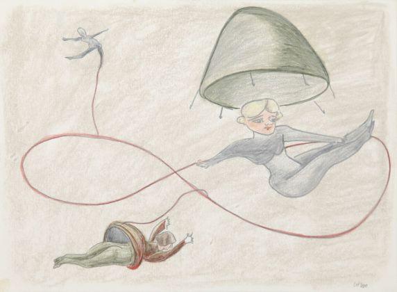 Rosa Loy, Bänder, 2010