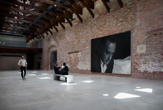 Rudolf Stingel, Untitled. Photo Irene Fanizza