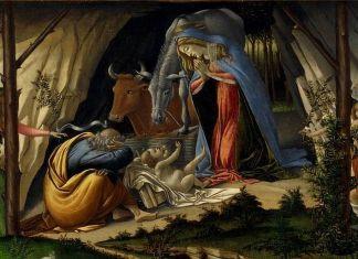 Sandro Botticelli, Natività mistica di Gesù, 1501. National Gallery, Londra