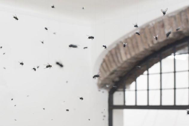 Santissimi. Rebirth. Installation view at White Noise Gallery, Roma 2018