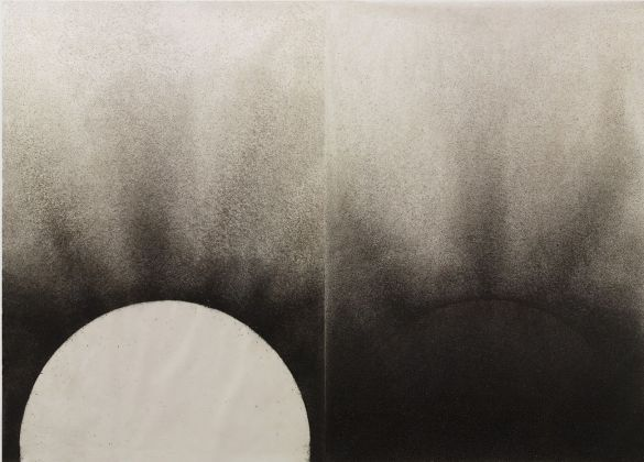 Silvano Tessarollo, Terra e fango su carta, 2017
