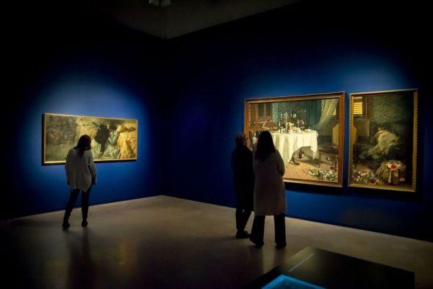 Stati d'animo. Arte e psiche tra Previati e Boccioni. Exhibition view at Palazzo dei Diamanti, Ferrara 2018