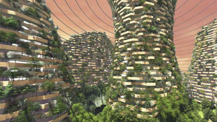 Stefano Boeri Architetti, Vertical seeds on Mars