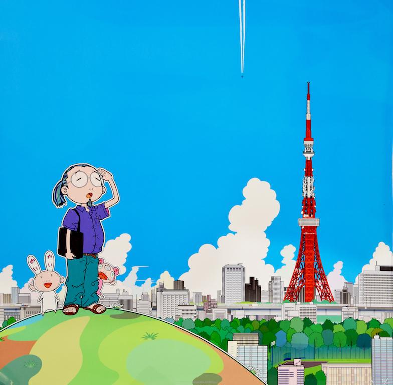 Takashi Murakami, Tokyo Tower, Franciacorta 2018