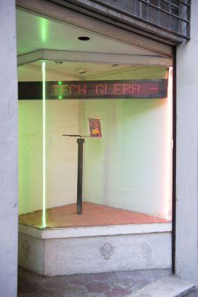 Tech Gleba, Una Vetrina, installation view