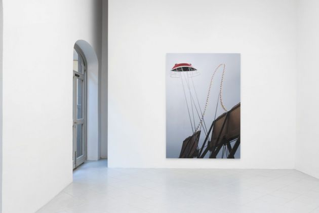 Thomas Demand. Installation view at Galleria Gentili, Firenze 2018. Photo © groomingphoto