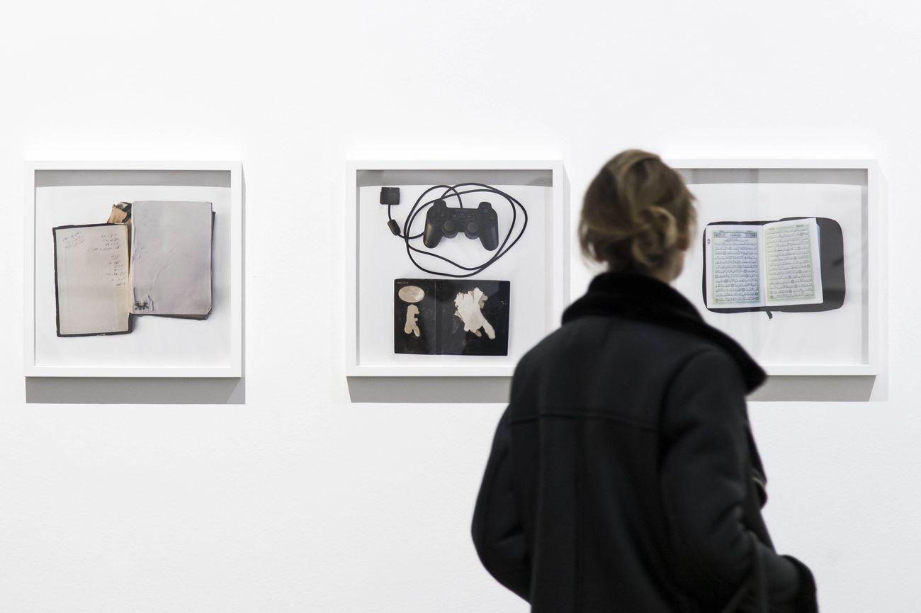 Today, tomorrow and the day after tomorrow. Exhibition view at Fondazione Sandretto Re Rebaudengo, Torino 2018. Photo Giorgio Perottino