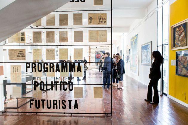 Universo futurista. Installation view at Fondazione Massimo e Sonia Cirulli, San Lazzaro di Savena. Photo Simone Nocetti