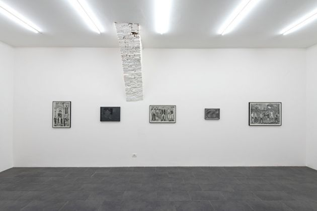 Valentin Just & Niklas Lichti. Installation view at Galerie Emanuel Layr, Roma 2018