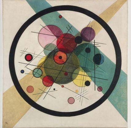 Vasily Kandinsky, Cerchi in un cerchio, 1923. Philadelphia Museum of Art, Collezione Louise e Walter Arensberg, 1950