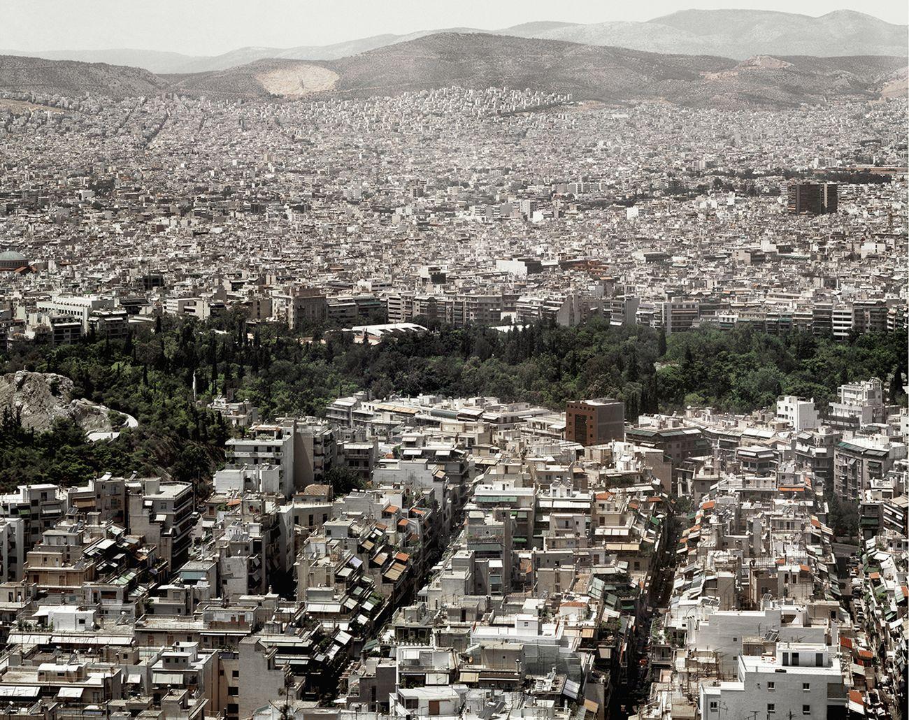 Vincenzo Castella, Atene, 2001