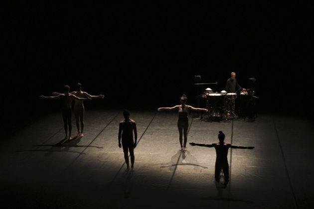 Virgilio Sieni, PULCINELLA_Quartet. Photo © Valeria Palermo