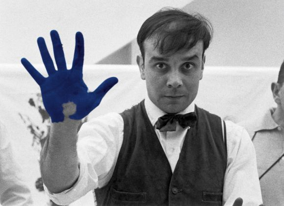 Yves Klein at Blenheim Palace