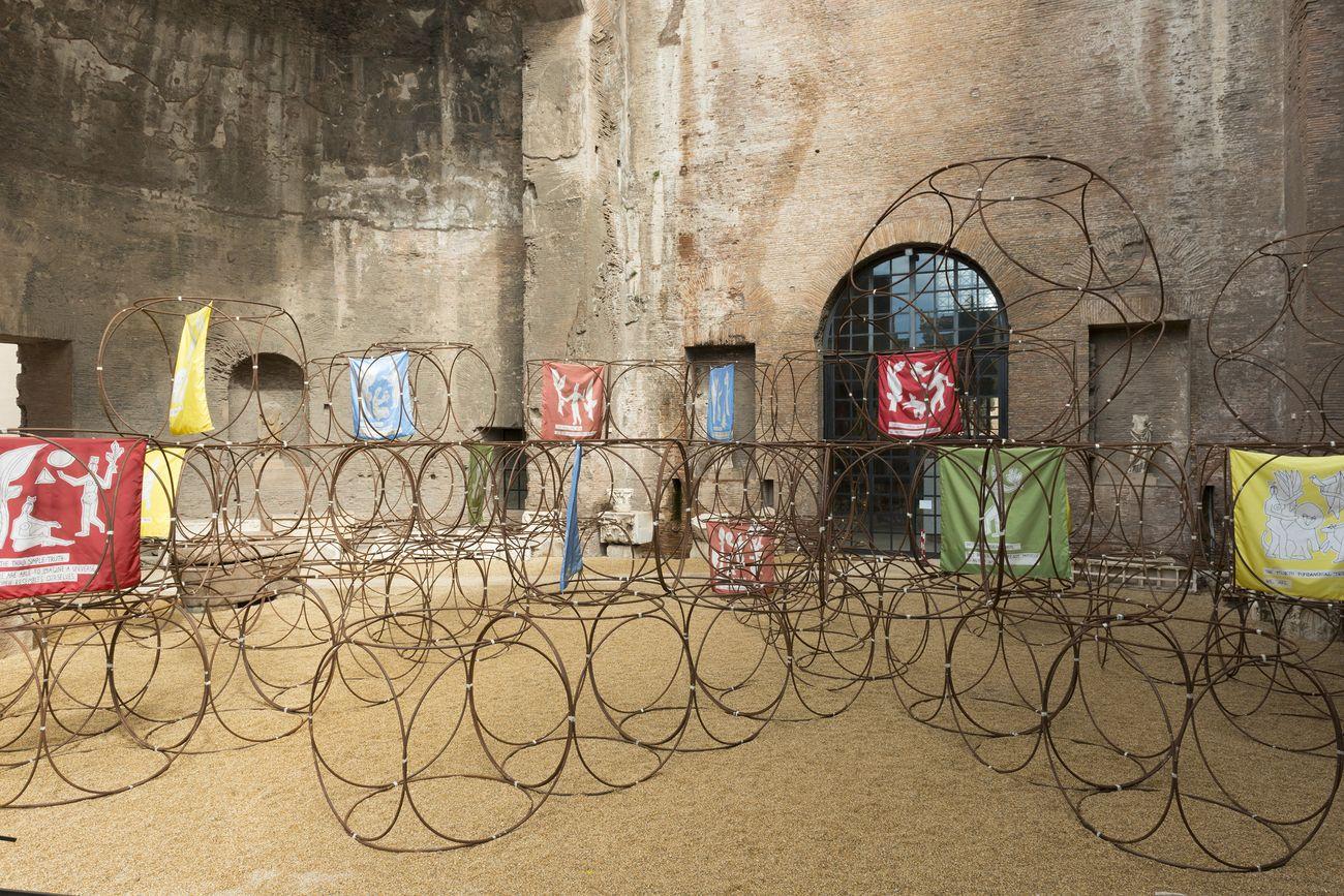 Yona Friedman, No Man's Time, 2018. Courtesy l'artista, De Vleeshal, Middelburg e Fondazione No Man's Land. Photo credits © Electa – photo S. Castellani