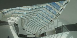 Zaha Hadid Architects, Stazione di Afragola, Napoli, 2017. Sala d'attesa. Photo Archivio Brusinski