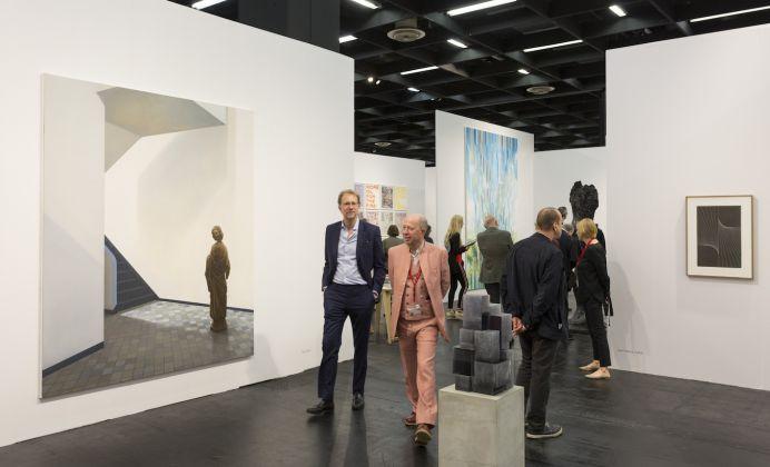 Art Cologne 2018,Stand: Galerie Eigen+Art, Halle 11.2 © Koelnmesse