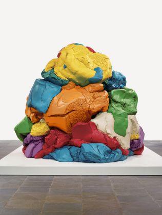 Jeff KoonsAmerican, born 1955Play-Doh, 1994–2014Polychromed aluminumObject: H: 315 x W: 386.7 x D: 348 cm Collection of the artist© Jeff Koons VEX.2018.1.9