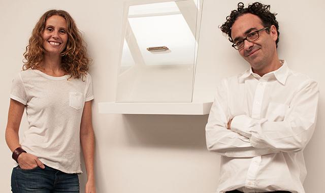 José Kuri e Monica Manzutto