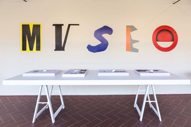 Museo Novecento, Firenze. Progetto installazione facciata by Paolo Parisi