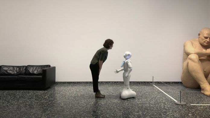 Pepper, il robot social dello Smithsonian Museum di Washington