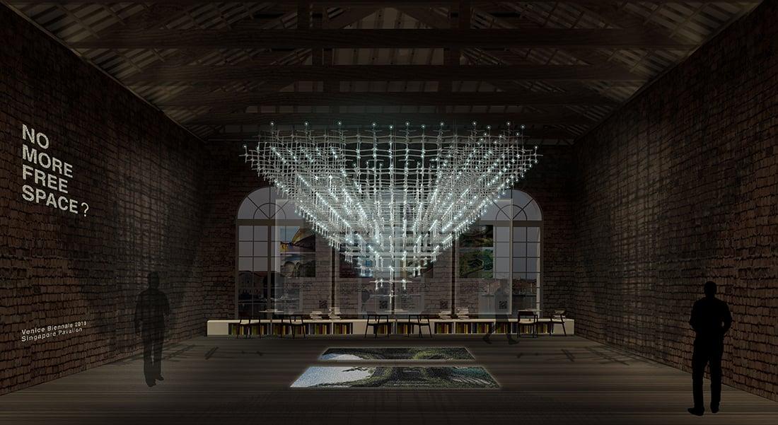 Front Elevation ∏ Singapore Pavilion, 16th International Architecture Exhibition, La Biennale di Venezia