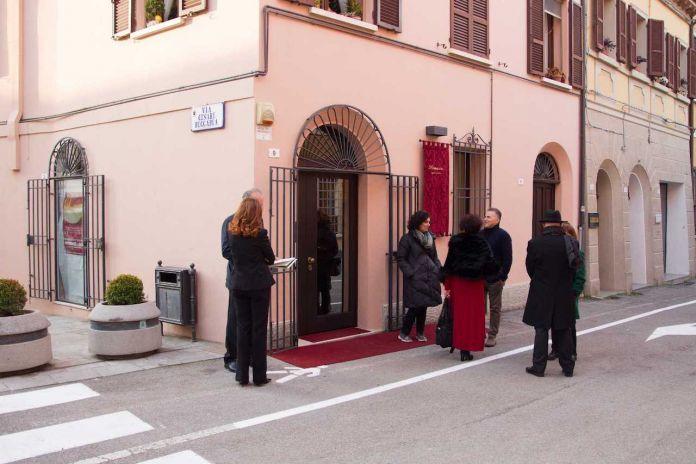 L'Opening della Galleria Damasco a Cesena
