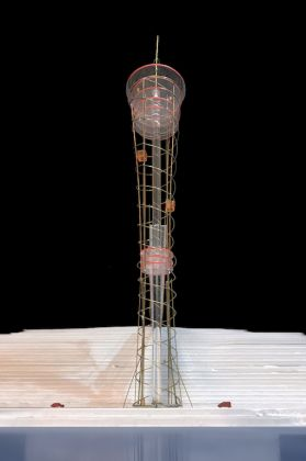 Capo Grande Tower, Concept model ©Archivio Fuksas