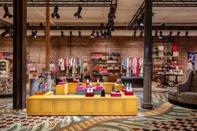 Gucci Wooster, New York. Photo courtesy of Pablo Enriquez and Gucci