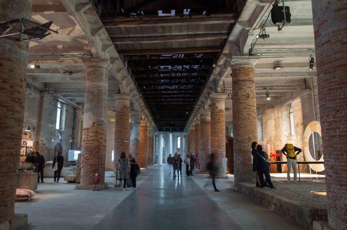 Biennale di Architettura di Venezia 2018. Arsenale. Freespace. Photo Irene Fanizza