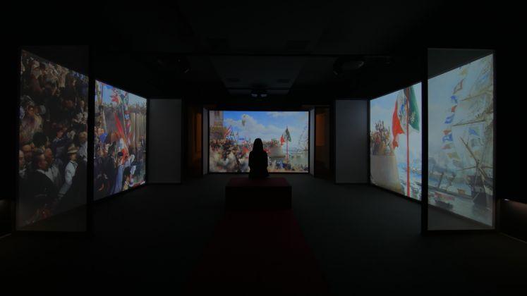 Massimiliano e Manet.Un incontro multimediale, Castello di Miramare, Trieste 2018