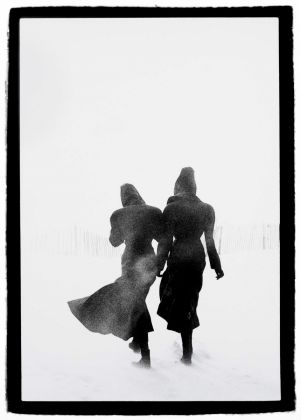 Peter Lindbergh, Le Touquet Linda Spierings and Tatjana Patitz, 1987, copyright Peter Lindbergh