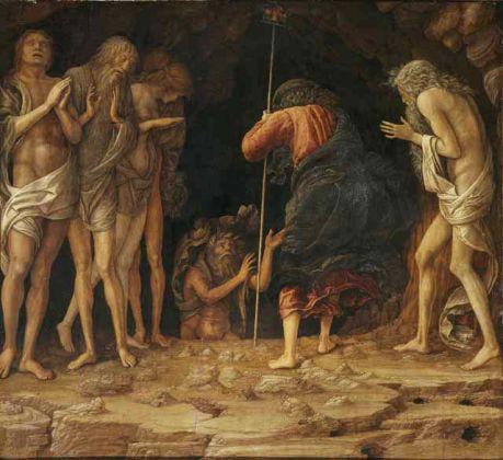 Andrea Mantegna, Discesa al Limbo, 1492 tempera e oro su tavola 38,8 x 42,3 cm, collezione privata