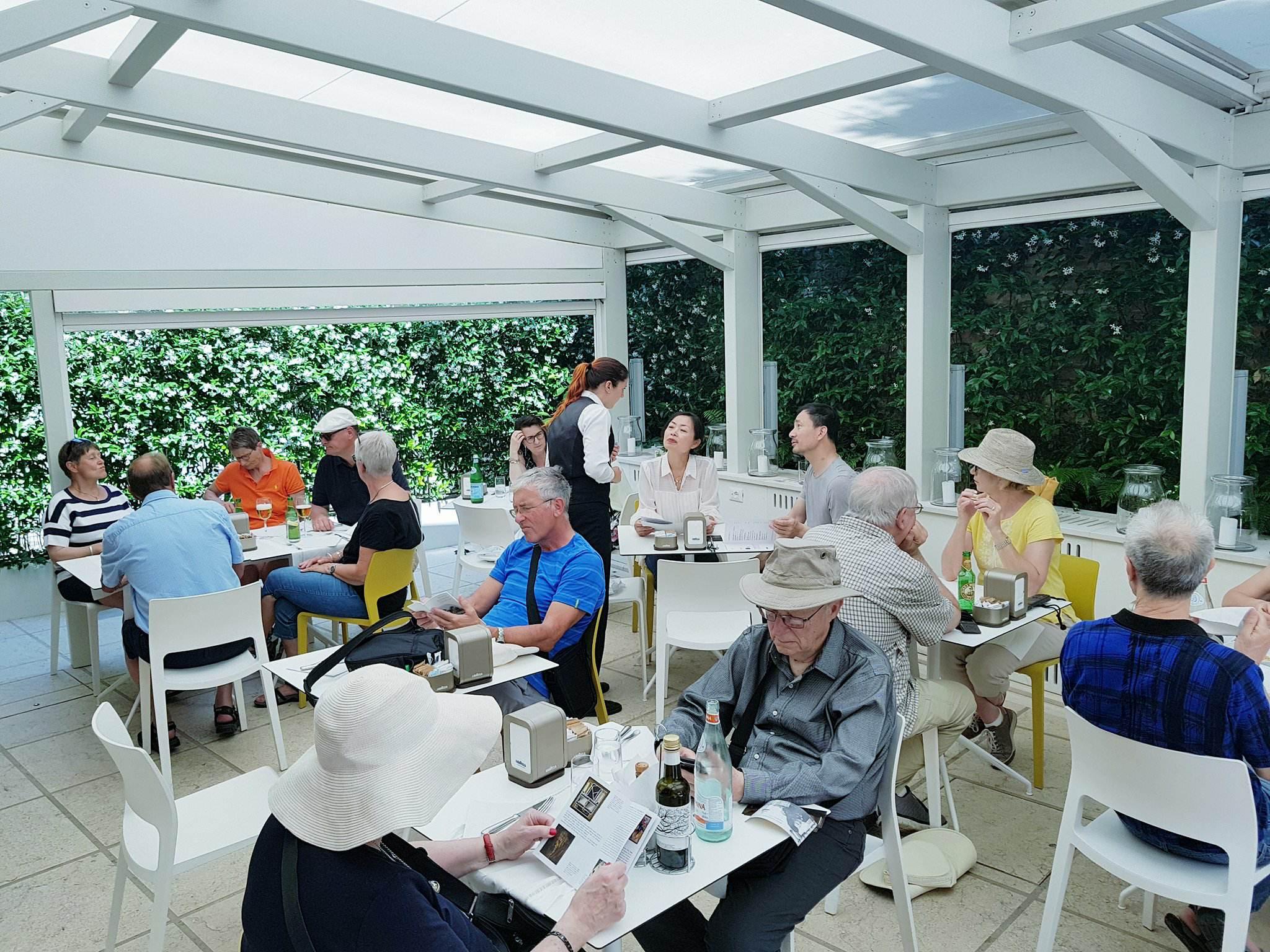 il ristorante del Guggenheim