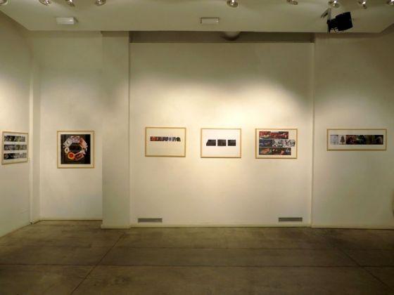 Adriano Altamira. Area di Coincidenza. Installation view at Galleria Studio G7, Bologna 2018. Courtesy Galleria Studio G7