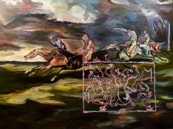 Adriano Annino, Termoclino Géricault. Il derby di Epsom, 2017