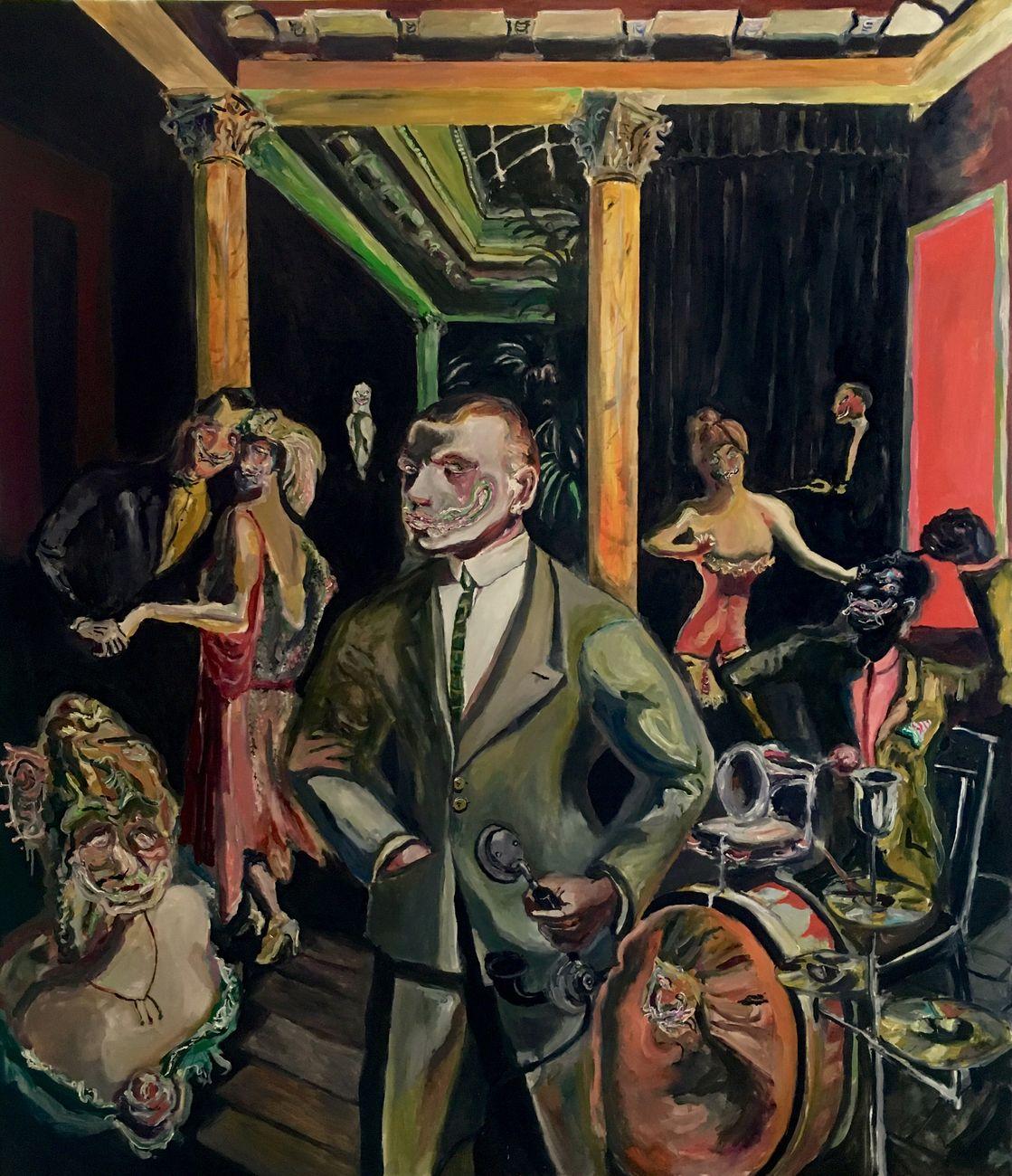 Adriano Annino, Termoclino Otto Dix. Alla bellezza, 2017