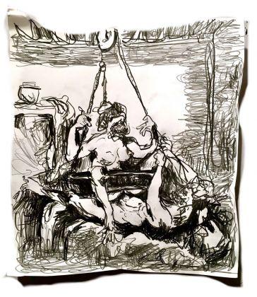 Adriano Annino, Termoclino Pinelli. Incisione erotica da Giulio Romano, 2018
