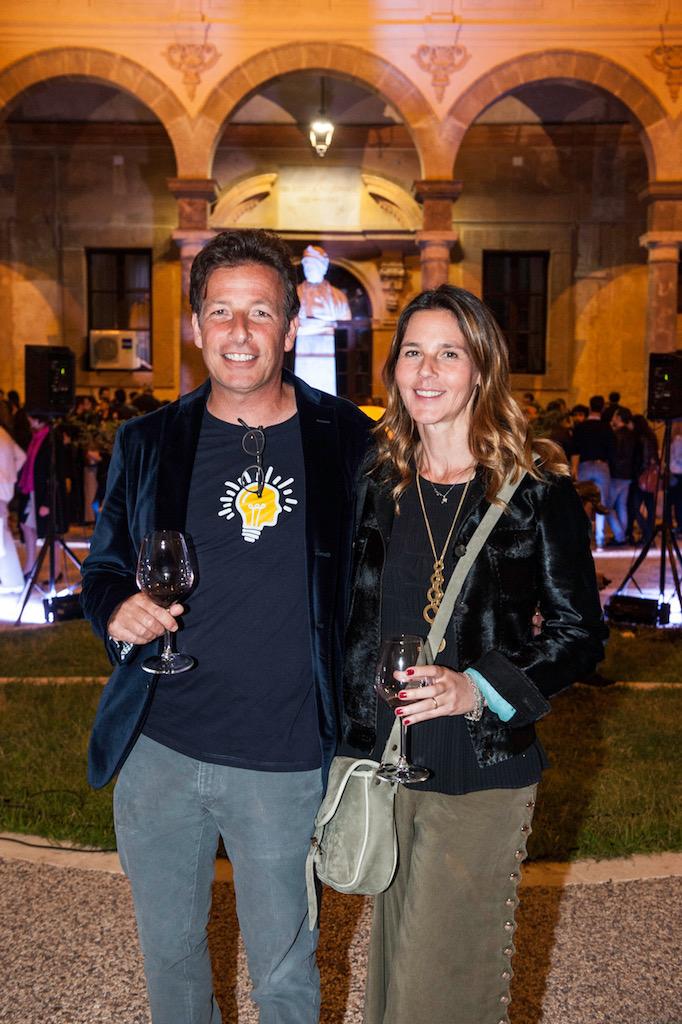 Alberto e Francesca Tasca d'Almerita, ph. Antonio Chinnici