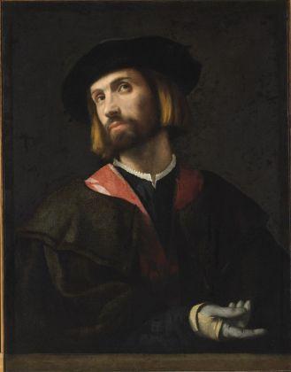Alessandro Bonvicino detto il Moretto, Ritratto di gentiluomo, 1520 ca. Budapest, Museo di Belle Arti