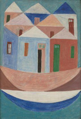 Alfredo Volpi, Senza titolo, 1959. Collezione Rose e Alberto Setubal, São Paulo