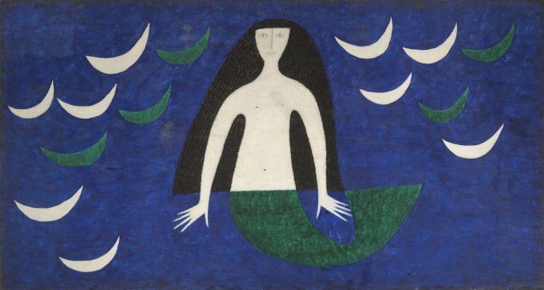 Alfredo Volpi, Senza titolo, 1962. Collezione Mastrobuono, São Paulo